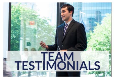 Team Testimonials